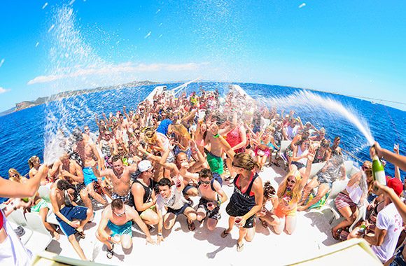 Fiestas en barco Granada